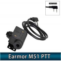 EARMOR M51 TACTICAL PTT...